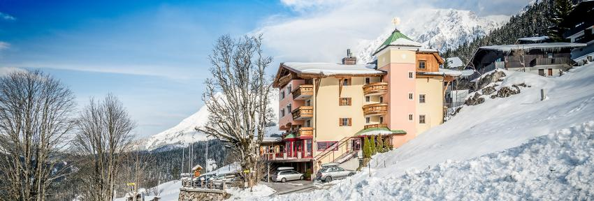 Hotel Sonnhof im Winter